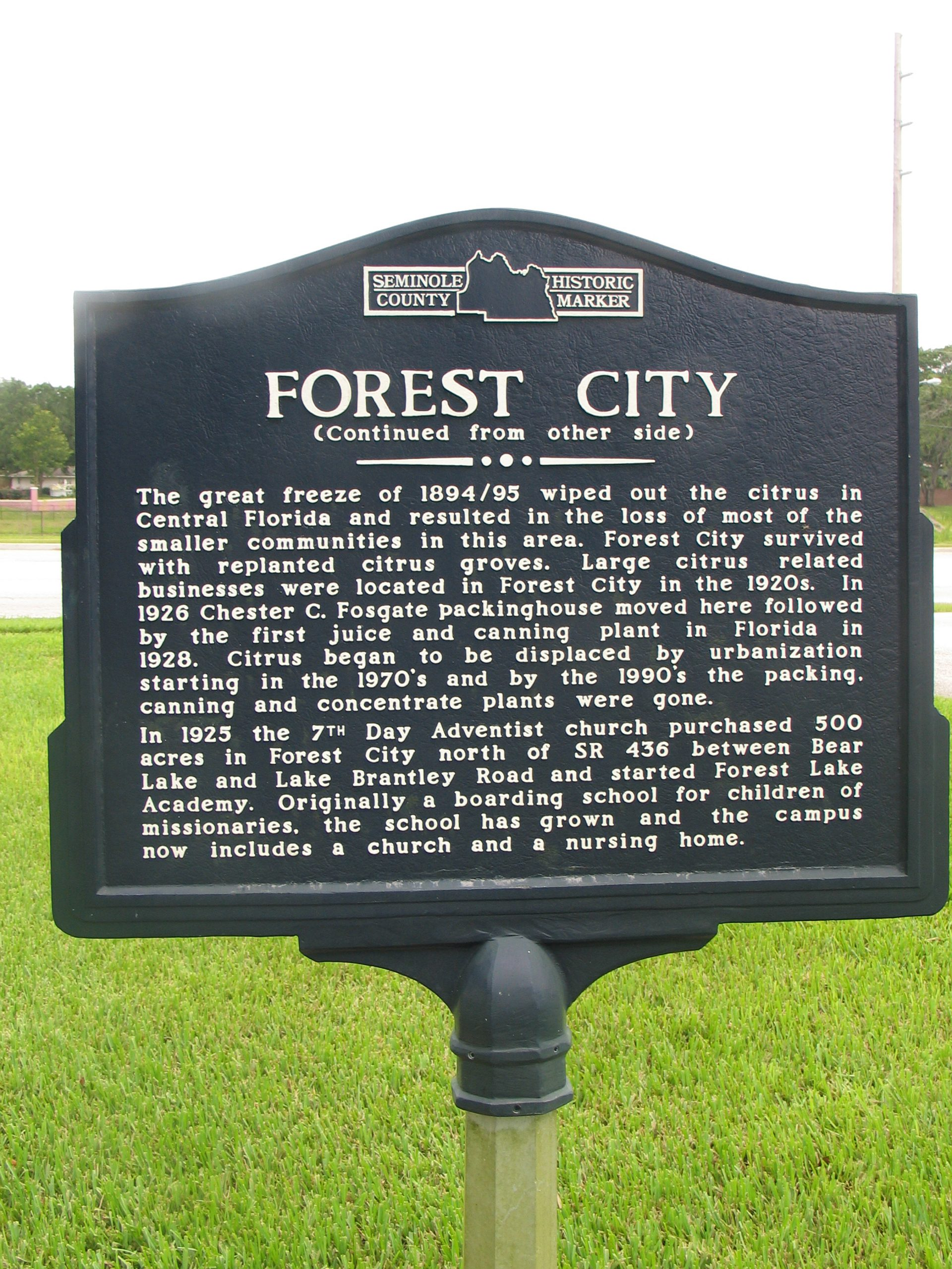 Forest City Fl